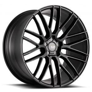 20x8.5 Savini Black Di Forza BM13 All Matte Black (Concave)
