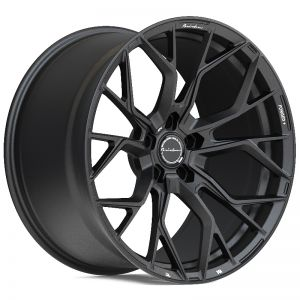 22x9 Brixton Forged RF10 Satin Black (Radial Forged)