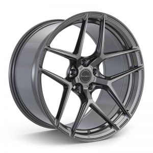 19x8.5 Brixton Forged RF7 Satin Anthracite (Radial Forged)