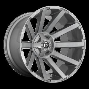 20x10 Fuel Off-Road Contra Platinum Tinted D714