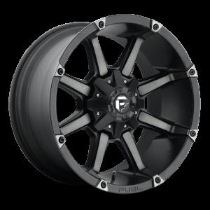 17x9 Fuel Off-Road Coupler Black Machined w/ Black Tint D556