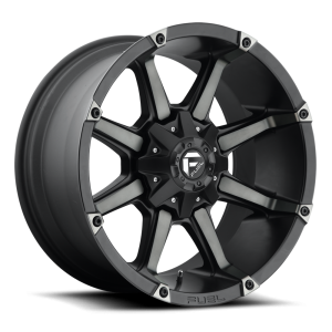 18x9 Fuel Off-Road Coupler Black Machined w/ ack Tint D556