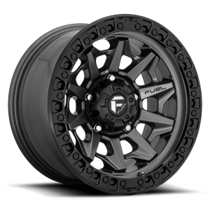 18x9 Fuel Off-Road Covert Matte Anthracite w/ Black Ring D716