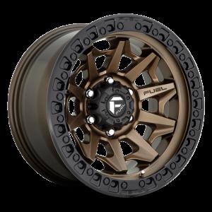 18x9 Fuel Off-Road Covert Bronze w/ Black Lip D696