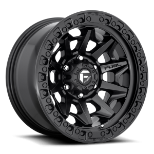 17x9 Fuel Off-Road Covert Beadlock Matte Black D114