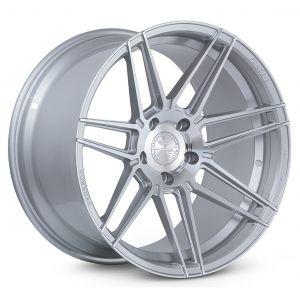 n4sm ferrada fr6 forge 8 machine silver wheel