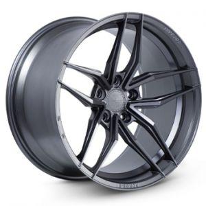 n4sm fr5 ferrada matte graphite wheel
