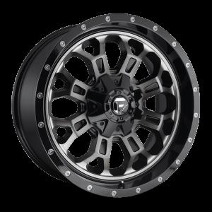 17X9 Fuel Off-Road Crush Gloss Black Double Dark Tint D561