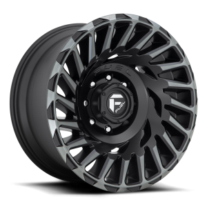 20x10 Fuel Off-Road Cyclone Matte Black w/ Machined Dark Tint D683