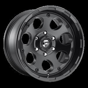 17x9 Fuel Off-Road Enduro Matte Black D608