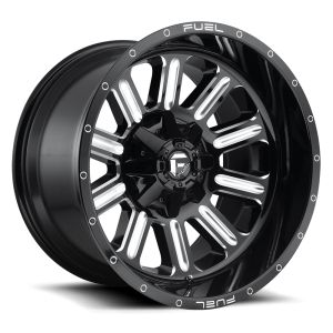 20x12 Fuel Off-Road Hardline Gloss Black Milled D620 (* May Require Trimming)