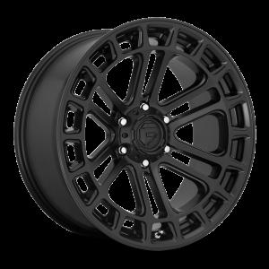17x9 Fuel Off-Road Heater Matte Black D718