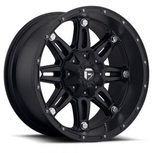 17x9 Fuel Off-Road Hostage Matte Black D531