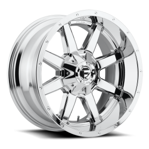 22x9.5 Fuel Off-Road Maverick Chrome D536
