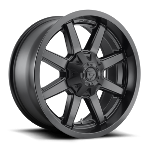 22x12 Fuel Off-Road Maverick Satin Black D436 (* May Require Trimming)