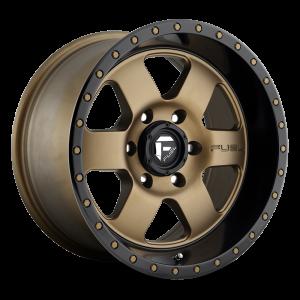 17x9 Fuel Off-Road Podium Bronze w/ Black Lip D617