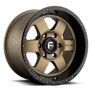 18x9 Fuel Off-Road Podium Bronze w/ Black Lip D617