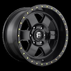 20x9 Fuel Off-Road Podium Satin Black D618