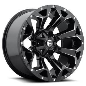 20x9 Fuel Off-Road Assault Gloss Black Milled D576