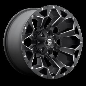 17x8.5 Fuel Off-Road Assault Matte Black Milled D546