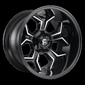 20X10 Fuel Off-Road Avenger Gloss Black Milled D606