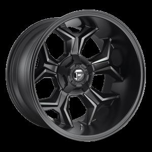 20X10 Fuel Off-Road Avenger Black and DDT D605