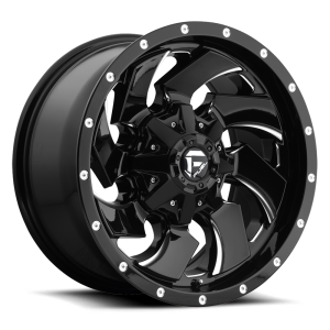 20x9 Fuel Off-Road Cleaver Gloss Black Milled D574