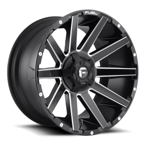 18x9 Fuel Off-Road Contra Matte Black Milled D616