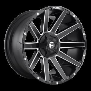 20x9 Fuel Off-Road Contra Matte Black Milled D616