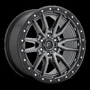 20x10 Fuel Off-Road Rebel Anthracite w/ Black Lip D680