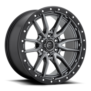 22x12 Fuel Off-Road Rebel Anthracite w/ Black Lip D680