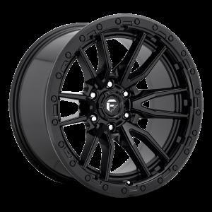 22x10 Fuel Off-Road Rebel Matte Black D679