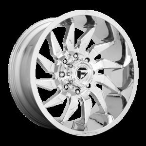22x12 Fuel Off-Road Saber Chrome D743