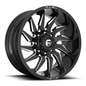 20x9 Fuel Off-Road Saber Gloss Black Milled D744