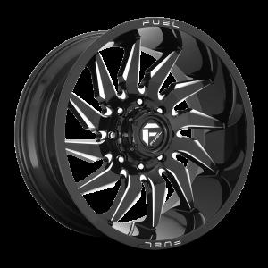 22x12 Fuel Off-Road Saber Gloss Black Milled D744