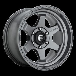 17x10 Fuel Off-Road Shok Matte Gunmetal D665