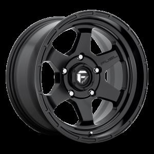 17x9 Fuel Off-Road Shok Matte Black D664