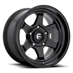 17x10 Fuel Off-Road Shok Matte Black D664