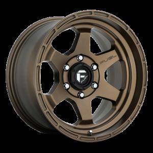 17x10 Fuel Off-Road Shok Matte Bronze D666