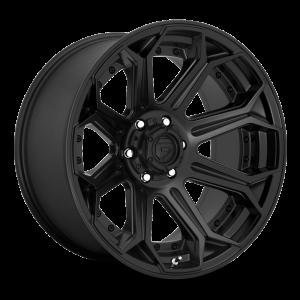 20x9 Fuel Off-Road Siege Matte Black D706