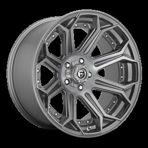 20x9 Fuel Off-Road Siege Platinum Tinted D705