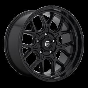 17x9 Fuel Off-Road Tech Matte Black D670