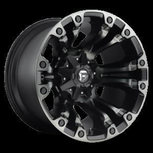 17x9 Fuel Off-Road Vapor Black Machined w/ Tint D569