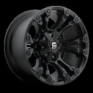 17x10 Fuel Off-Road Vapor All Matte Black D560
