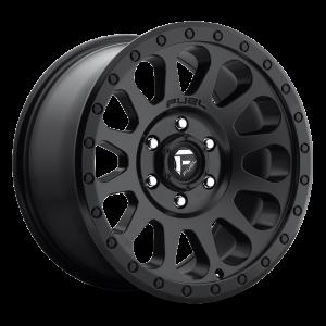 17x8.5 Fuel Off-Road Vector Matte Black D579
