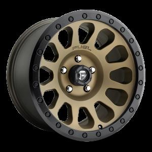 17X9 Fuel Off-Road Vector Bronze D600