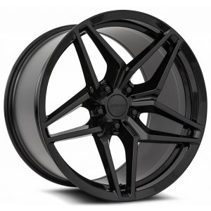 n4sm M755 mrr wheels gloss black 1
