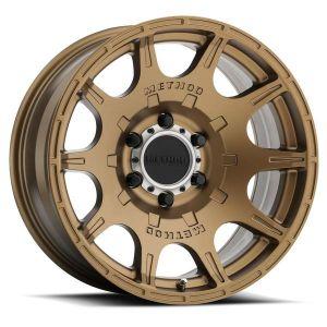 17x8.5 Method Race Wheels 308 Matte Bronze