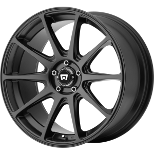 18x8 Motegi MR127 Satin Black