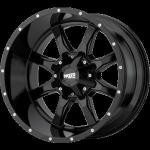 18x10 Moto Metal MO970 Gloss Black Milled Lip